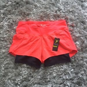 Neon Pink Athletic Shorts